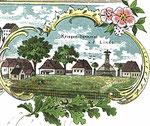 Ausschnitt aus Postkarte vor 1910