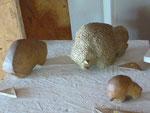 Sculptures - Caco - Bouquet de Flammes