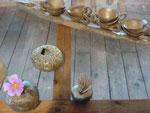grès cuisson four à bois et raku - Sylvie Ruiz Foucher -