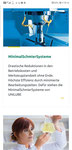 Website Unilube: responsive Design, Mobile hoch