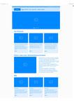 Website Unilube: Home/Startseite Wireframe mit Adobe XD