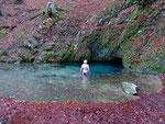 Source bleu, eau à 5° - novembre 2015