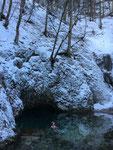 Janvier 2019. Toumo sadhana à la Source Bleue.