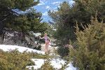 Randonnée raquettes - mars 2015 - Vétan, Alpes italiennes