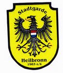 Stadtwappen - Vereinsaufkleber der Stadtgarde Heilbronn