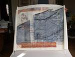 Eros et désert, eau forte, 60x80
