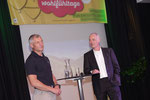 Olympiamedaillen-Gewinner Hansjörg Aschenwald beim Talk