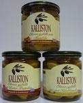 Kalliston Oliven im Glas