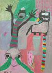 Trilogie, 40 x 60 cm, Acryl, 2018