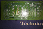 Technics RS-B965 Dolby PCB Leiterbahnen