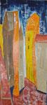 haushoch überlegen, Acryl, 50x100cm