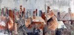 Überblick, Acryl, 31x61cm, 380,00 Euro