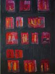 Begegnungen, Acryl, 50x70cm