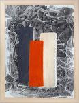 Form trifft Farbe, Aquarell auf Leinwand, 60x80cm, 560,00 Euro