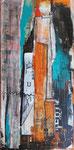 Über sich hinauswachsen, Acryl, 30x60cm, verkauft