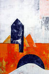 Klein-Venedig, Acryl, 80x120cm, verkauft