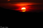 Sonnenuntergang am Gipfel