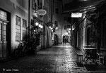 Die Welser Altstadt im Querformat