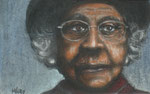 """Respect"", Pastell, 17 x 12 cm, verkauft"