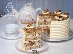 Daim-Walnuss Torte