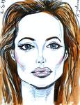 Angelina, 8 1/2x 11 1/2  (22x29cm)