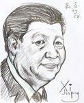 Xi,  11 x 14 in (28x34cm)