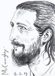 McConaughey,  8 1/2x 11 1/2  (22x29cm)