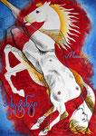 30X42cm,  Zeichenstift, Tusche, Aquarell auf Papier,  2012