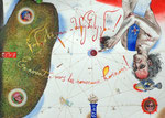 Zu neuen Ufern!  30X42cm, Aquarell, Tusche auf Papier, 2005