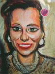Katja, 60X80cm, Acryl auf Malplatte