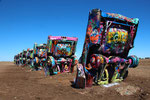 Cadillac ranch / Texas