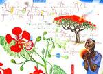 Der Frühling des Herbstes  30X42cm, Aquarell, Tusche auf Papier, 2005