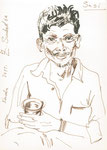 Sasi, 15X21cm, Artist Pen auf Papier
