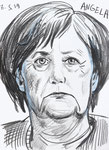 Angela,  8 1/2x 11 1/2  (22x29cm)