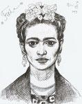 Frida, 11 x 14 in (28x34cm)