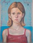 Margot, 48X63cm, Ölpastell auf Ingres Büttenpapier