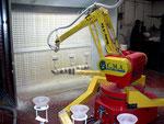 CMA Robotics robot application peinture VAISSELLE hdpr housse de protection robot