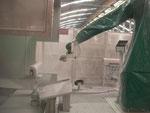 CMA Robotics robot application peinture céramique  hdpr housse de protection robot