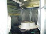 CMA Robotics robot application peinture BAIGNOIRE hdpr housse de protection robot