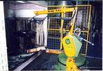 CMA Robotics intégrateur robot application peinture plastique hdpr housse de protection robot