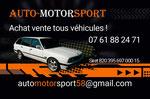 Cartes de visite effet métallique > pour un vendeur de véhicules sur Nantes - 2017 - Techniques : Photomontage et mise en couleurs (numérique sur Photoshop) - Demande client : Reprise photo donnée