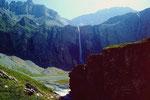 Der 180 m hohe Geltenbachfall im Rottal