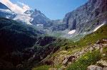 Fortsetzung des Höhenwegs von Obersteinberg zum Oberhornsee