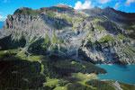 Bire und Oeschinensee von der Doldenhornhütte