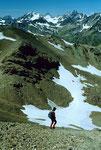 Kl. und Gr. Piz Buin vom Abstiegsweg zur Alp Clünas