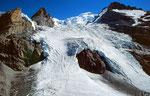 Der beeindruckende Eisfall des Blümlisalpgletschers