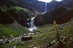 Die Wasserfälle des Geltenschusses