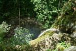 Holleiten-Wasserfall von oben