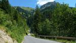 Straße zum Seewaldsee