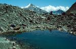 Kleiner Moraenensee unterhalb des Chessiengletschers